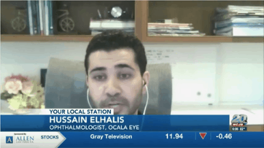 Dr. Elhalis Featured on WCJB TV 20